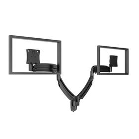 View a larger image of the Chief K1W220B Kontour Dual Screen Dynamic Wall Mount.