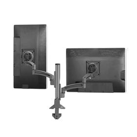 View a larger image of the Chief K2C220B Kontour Dual Screen Column Desk Mount.