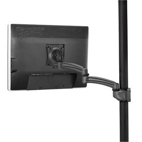 View a larger image of the Chief K2P120B Kontour Single Screen Pole Mount.