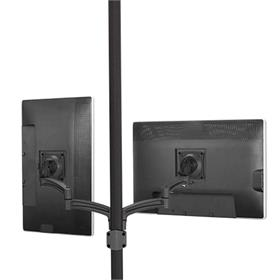 View a larger image of the Chief K2P220B Kontour Dual Screen Pole Mount.