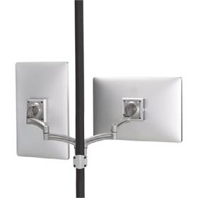 View a larger image of the Chief K2P220S Kontour Dual Screen Pole Mount.