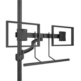 View a larger image of the Chief K2P22HB Kontour Dual Screen Array Pole Mount.