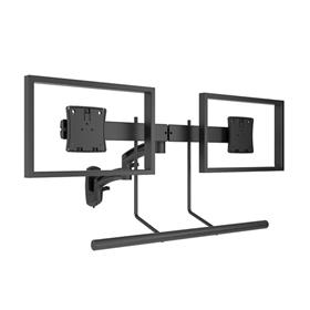 View a larger image of the Chief K2W22HB Kontour Dual Screen Array Wall Mount.