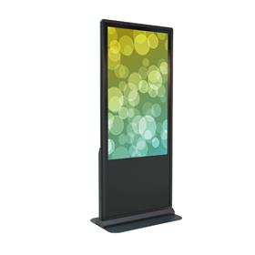 View a large image of the Crimson All-In-One Kiosk (55 inch, Brightsign, Touchscreen) KFP255TB here.