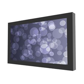 View a larger image of the Peerless KIL648 Black Indoor Landscape Wall Kiosk Enclosure for 48