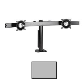 View a larger image of the Chief KTC225S K-Series Widescreen 2X1 Desk Clamp Mount.