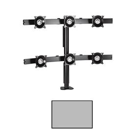 View a larger image of the Chief KTC330S K-Series 3X2 Desk Clamp Mount.
