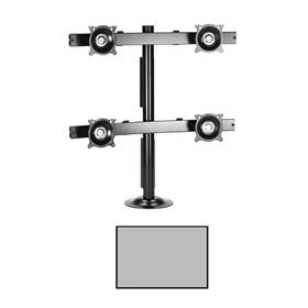 View a larger image of the Chief KTG440S K-Series 2X2 Desk Grommet Mount.