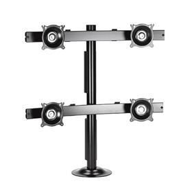 View a larger image of the Chief KTG445B K-Series Widescreen 2X2 Desk Grommet Mount.