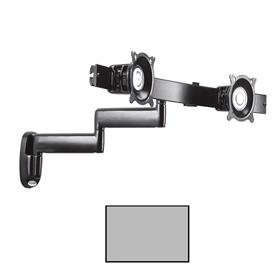 View a larger image of the Chief KWD220S Silver Dual Arm 2x1 Wall Mount.
