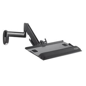 View a larger image of the Chief KWK110B Adjustable Height Keyboard Wall Mount.