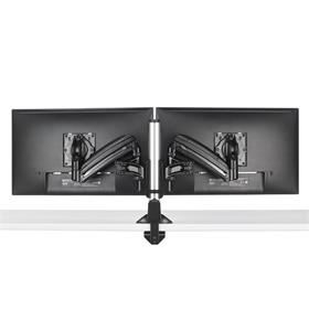 View a larger image of the Chief Kontour Slim Dynamic Column Desk Mount, 2 Monitors, Black, KXC220B here.