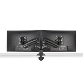 View a larger image of the Chief Kontour Slim Dynamic Desk Mount, 2 Monitors, Black, KXD220B here.