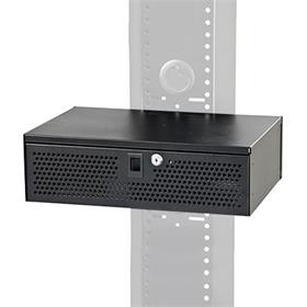 View a larger image of the Audio Visual Furniture LB3 Rack Mount Electronics Lockbox.