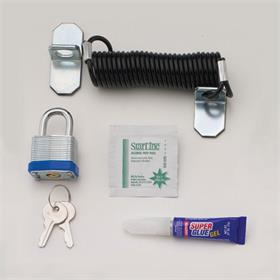 View a larger image of the Chief LC1 Cable Lock Security Kit.