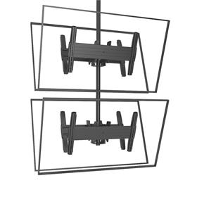View a larger image of the Chief LCB1X2U FUSION Large B2B Stacked Ceiling Mount.