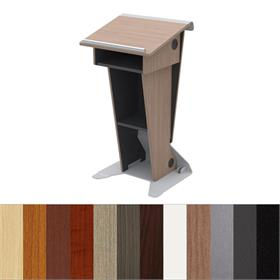 View a larger image of the Audio Visual Furniture Slim Presentation Lectern, LE222 here.