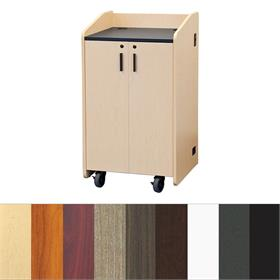 View a larger image of Audio Visual Furniture LE3050 Flat Top Lectern.