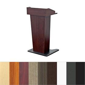 View a larger image of the Audio Visual Furniture LE402 Slim Lectern.