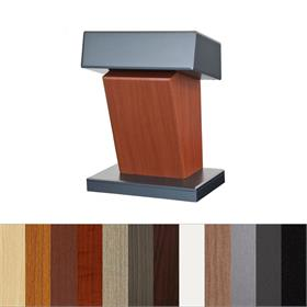 View a larger image of the Audio Visual Furniture Presidential Lectern, LEX112 here.