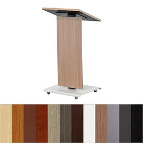 View a larger image of the Audio Visual Furniture LEXYZ20-L  Modern Linear Lectern.