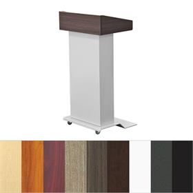 View a larger image of the Audio Visual Furniture LEXYZ27 Modern Mobile Lectern.