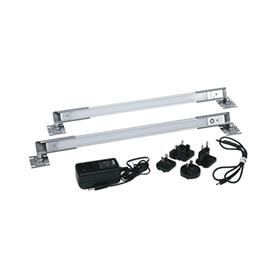 View a larger image of the Middle Atlantic Dual LED Rackmount Work Light, LT-CABUTL-DUAL here.