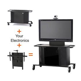 View a larger image of the Audio Visual Furniture - VFI Large Display Cart for 40-80 inch Screens MC1000-S PACKAGE I.