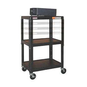 View a larger image of the VTI MFC4226E Height Adjustable Mobile Cart (26-42 inches).