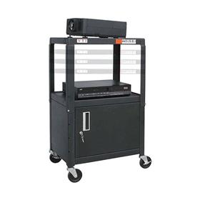 View a larger image of the I MFCAB4226E Mobile Cart with Locking Cabinet (26-42 inches).