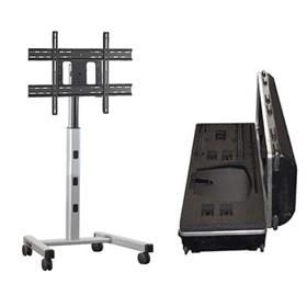 View a larger image of the Chief MFCUS700 Medium Silver Flat Panel Cart with Travel Case.