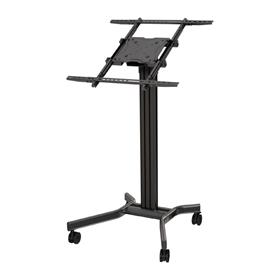View a larger image of the Crimson MK65 Mobile Kiosk Floor Cart for Large Screens.