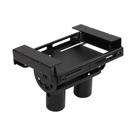 View a larger image of the Peerless Modular Dual Pole I-Beam Ceiling Plate (Black) MOD-CPI2.