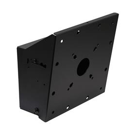 View a larger image of the Peerless Modular Dual Pole Single Display Mount (Black) MOD-FPMS2.