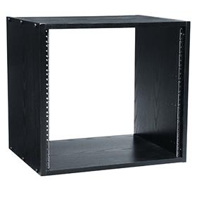 View a larger image of the Middle Atlantic Laminate Rack (12RU, 18 D, Black) BRK12 here.