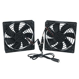 View a larger image of the Middle Atlantic DC Fan Kit (138 CFM) FAN2-DC here.