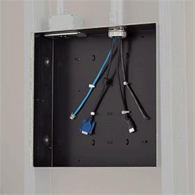 View a larger image of the Chief PAC526 Large In-Wall Storage Box.