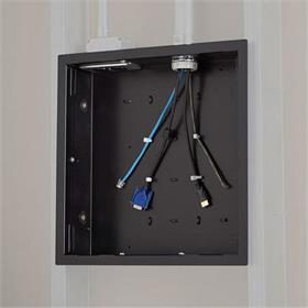 View a larger image of the Chief PAC526F Large In-Wall Storage Box with Flange.