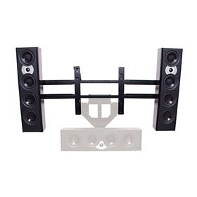View a larger image of the Chief PACLR1 Left and Right Speaker Mount for Mid Size Screens.