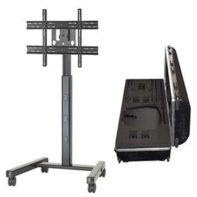 View a larger image of the Chief PFCUB700 Large Black Flat Panel Cart with Travel Case.
