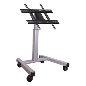 View a larger image of the Chief PFMUS Large Silver Confidence Monitor Cart (3-4 ft).