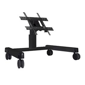 View a larger image of the Chief PFQUB Large Black Confidence Monitor Cart (2 ft).