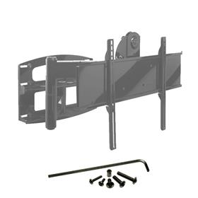 View a larger image of the Peerless PLA60-UNL Matte Black Security Articulating Mount for Mid to XL Screens.