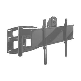 View a larger image of the Peerless PLA60-UNLP Matte Black Articulating Mount for Mid to XL Screens.