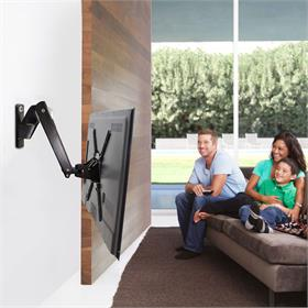 View a larger image of the OmniMount PLAY70-BLACK Interactive TV Arm for Large Screens.