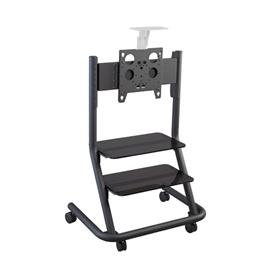View a larger image of the Chief PPCKU Universal Video Conferencing Cart With Two Shelves.