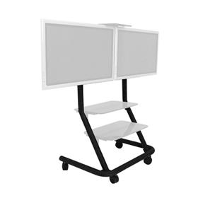View a larger image of the Chief PPD2000 Dedicated Dual Display Video Conferencing Cart.