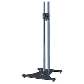 View a larger image of the PSD-EB84 84 inch High Chrome Elliptic Floor Stand.