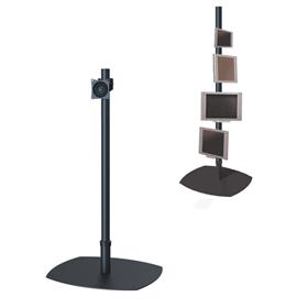 View a larger image of the Premier Mounts PSP-60B Single 60 inch Black Pole Floor Stand for Small to Mid Size Screens.