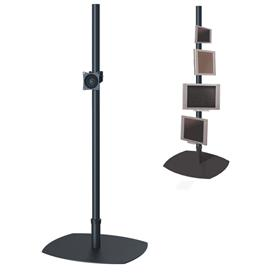 View a larger image of the Premier Mounts PSP-84B Single 84 inch Black Pole Floor Stand for Small to Mid Size Screens.